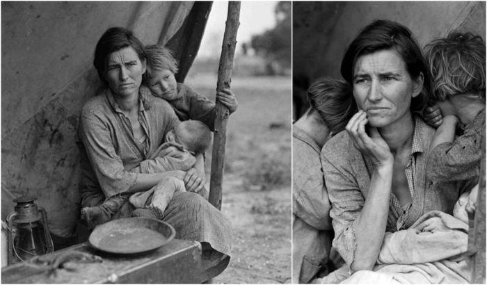 Мать-мигрант. \ Фото: pinterest.com.