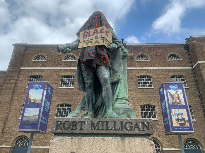 Роберт Миллиган, музей Доклэндс, Лондон. \ Фото: inews.co.uk.