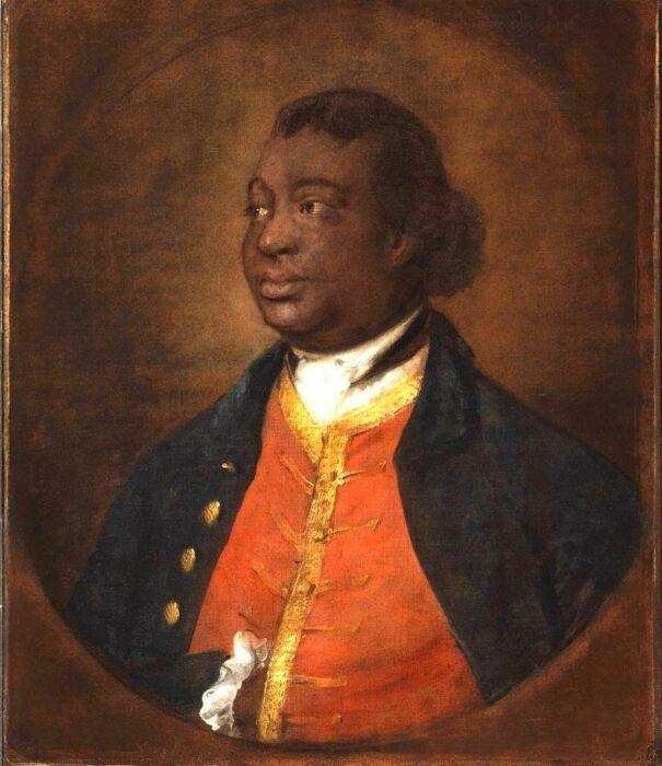 Портрет Игнатиуса Санчо,  Томас Гейнсборо, 1768 год. \ Фото: gallery.ca.