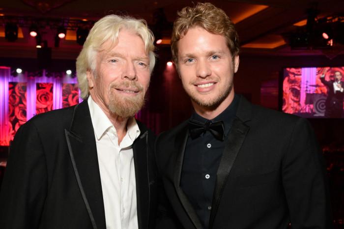 Наследник основателя  Virgin. \ Фото: pagesix.com.