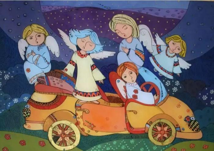 Ангелы-путешественники. Автор: Натали Курий-Максымив.