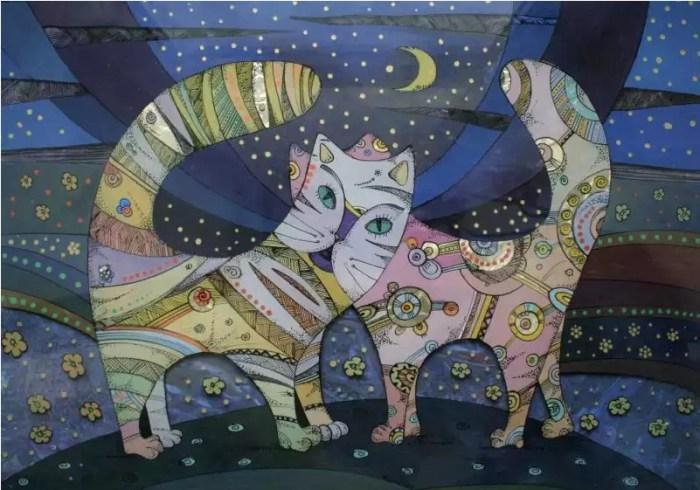 Мартовские коты. Автор: Натали Курий-Максымив.