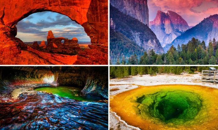 Национальные парки США.