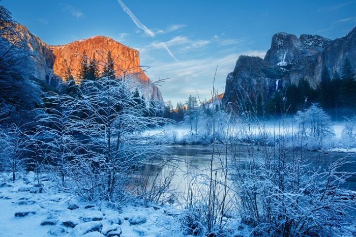 Национальный парк Йосемити, Калифорния. Автор: Johan De Wulf.