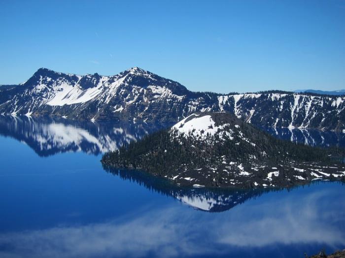 Национальный парк Кратерное озеро, штат Орегон. Автор: Johan De Wulf.