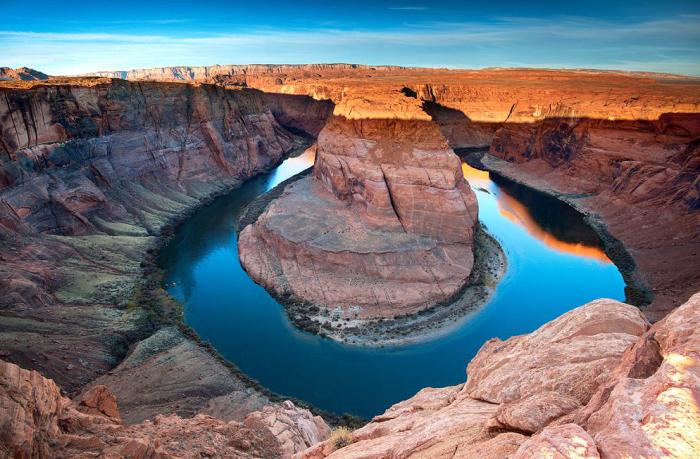 Horseshoe Bend (Подкова). Аризона, США.