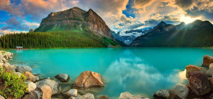 Озеро Луис. Альберта, Канада.