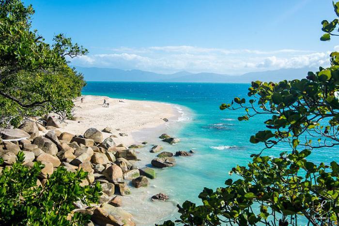 Великолепное лазурное побережье Австралии.