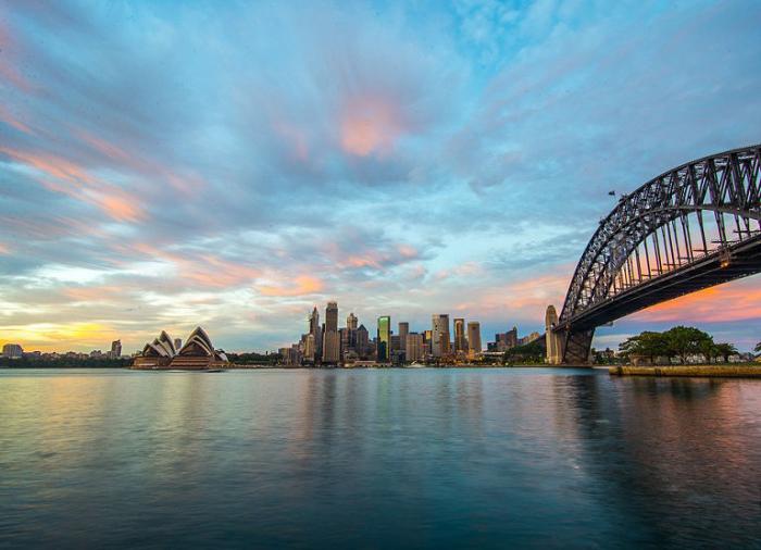Гавань Сиднея, Новый Южный Уэльс.