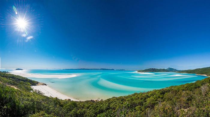 Белое побережье, Квинсленд.