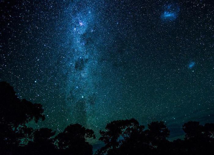 Млечный путь. Остров Кенгуру, Южная Австралия.