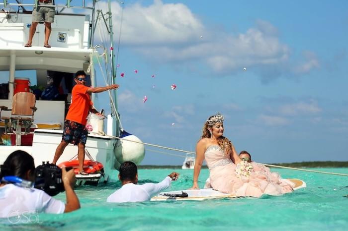 Свадьба в Карибском море. Автор: Sol Tamagro.