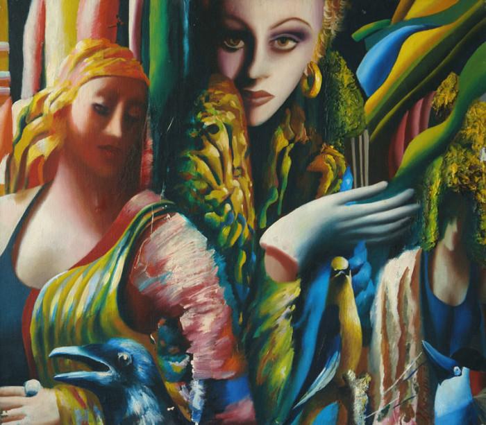 Женщины и птицы. Автор: Ольга Гречина.