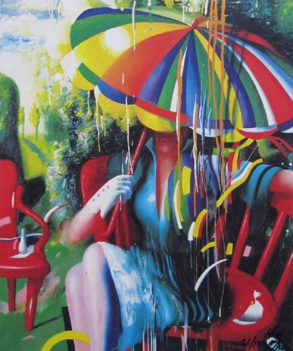 Солнечный дождь. Автор: Ольга Гречина.