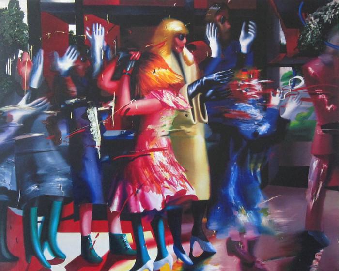 Танец в перчатках. Автор: Ольга Гречина.