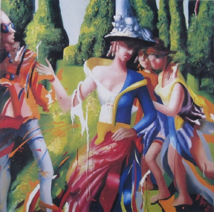 Танцы в садах. Автор: Ольга Гречина.