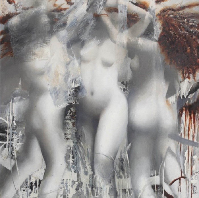 Три грации. Автор: Ольга Гречина.