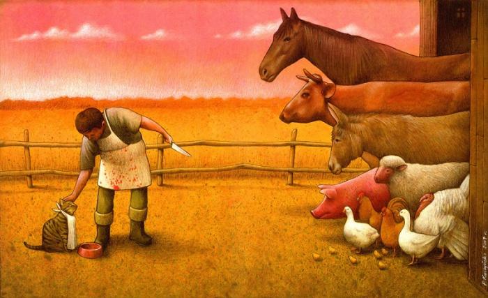 Двойные стандарты. Автор: Pawel Kuczynski.
