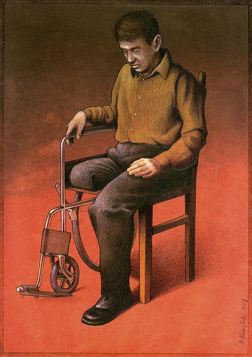 Реалии современных будней. Автор: Pawel Kuczynski.