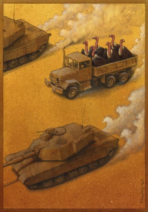 Все на поле... Автор: Pawel Kuczynski.