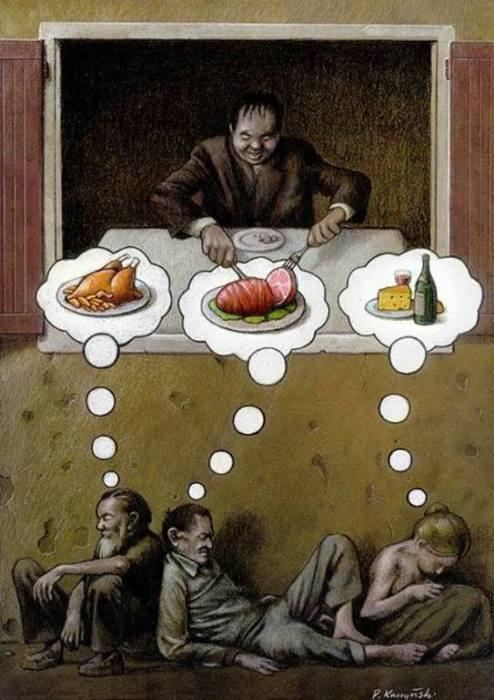 Суровая правда жизни. Автор: Pawel Kuczynski.