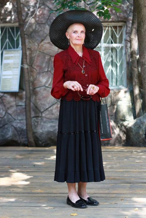 Элегантная дама из Москвы.