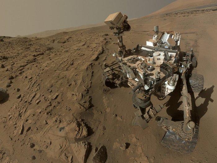 Селфи с Марса. \ Фото: clubic.com.