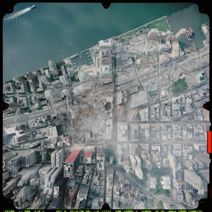 Последствия теракта 11 сентября 2001 года. \ Фото: yandex.ua.