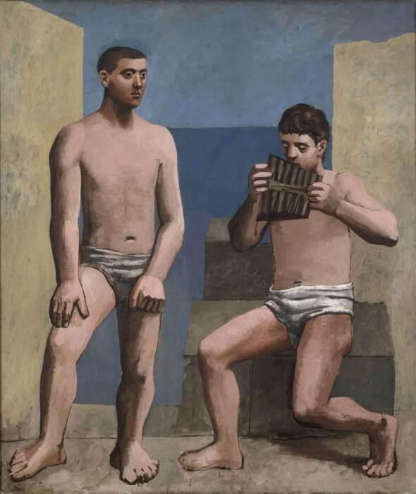 Флейта Пана, Пабло Пикассо, 1923 год. \ Фото: parnasodelasartes.com.