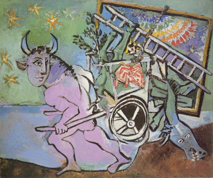Минотавр, Пабло Пикассо, 1936 год. \ Фото: flickr.com.