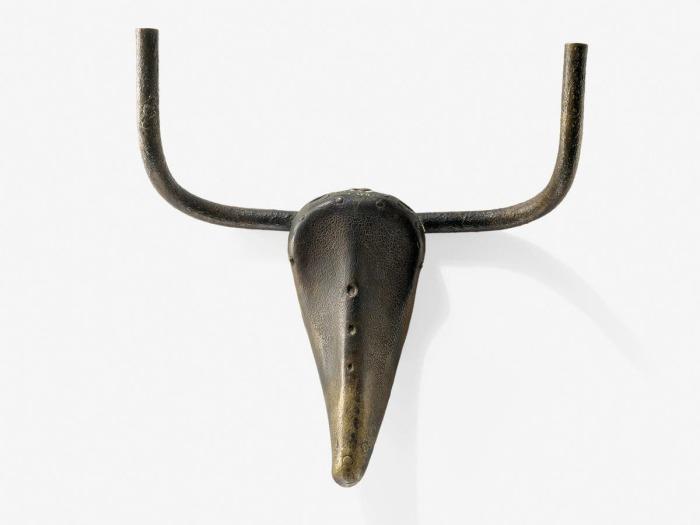 Бычья голова, Пабло Пикассо, 1942 год. \ Фото: independent.co.uk.