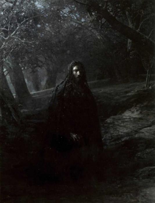Николай Николаевич Ге — «В Гефсиманском саду», 1869–80 гг.
