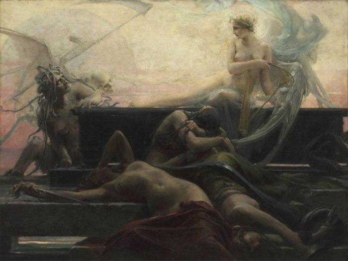 Максимилиан Пирнер (Maximilian Pirner)  — «Finis» (Konec všech věcí), 1887 год.