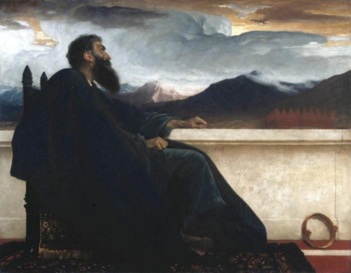 Фредерик Лейтон, «Давид», 1865 год.