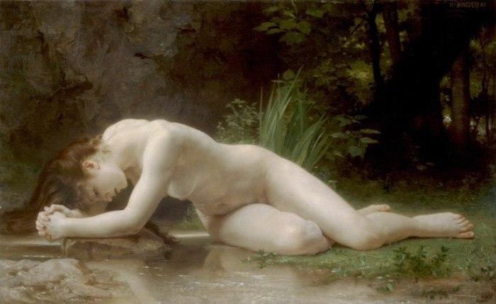 Адольф-Вильям Бугро — «Библида», 1884 год.
