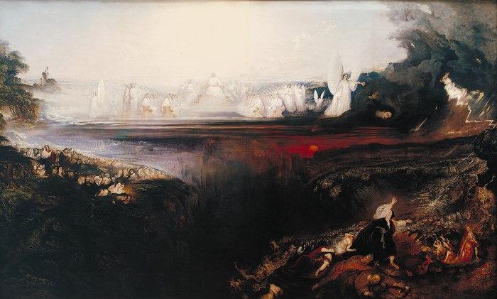 «Страшный суд» (The Last Judgement), 1853 год. Художник Джон Мартин (John Martin ).