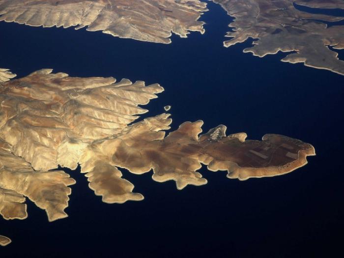 Плотина Ататюрка на юго-востоке Турции. Фото Yannis Behrakis.
