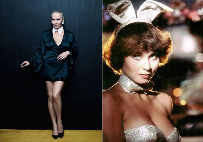 Модели Playboy сейчас и тогда.