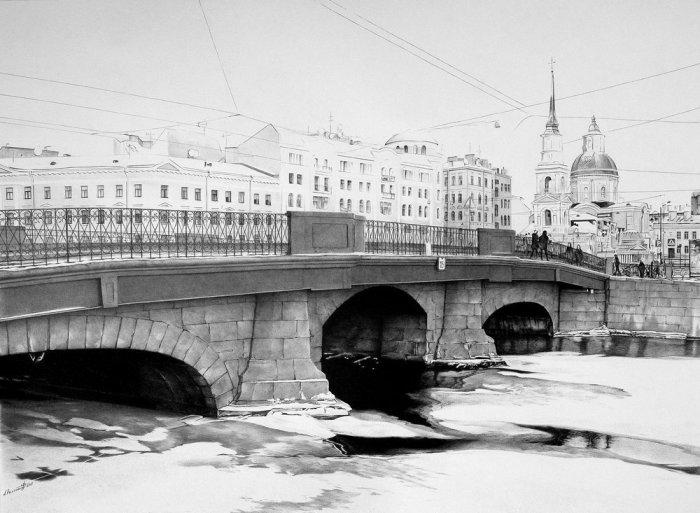 Берлинский мост, 2015 год. Автор: Андрей Полетаев.