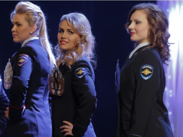 Россия. Самые красивые девушки-полицейские из разных стран.