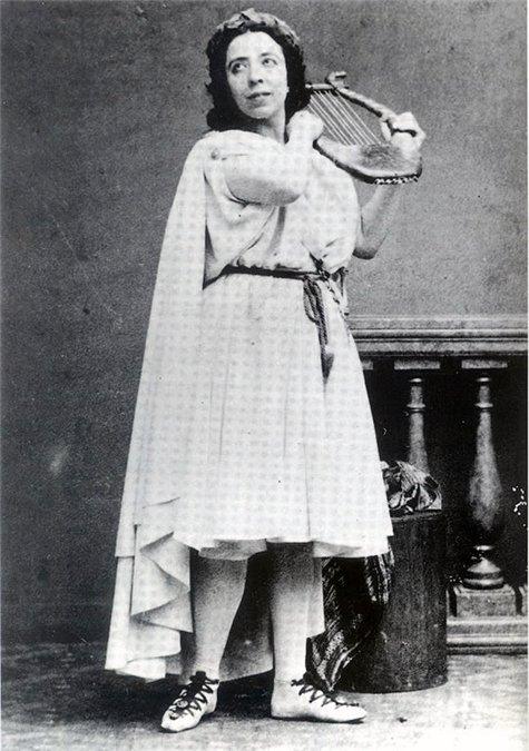 Полина Виардо в опере «Орфей».