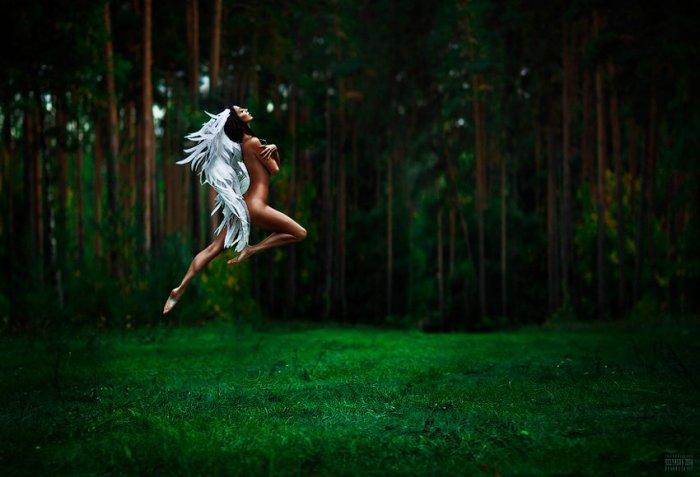 Танец Ангела. Автор фото: Беляева Светлана.