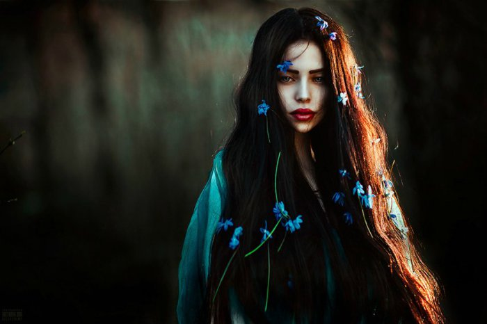 Портрет девушки. Автор фото: Беляева Светлана.