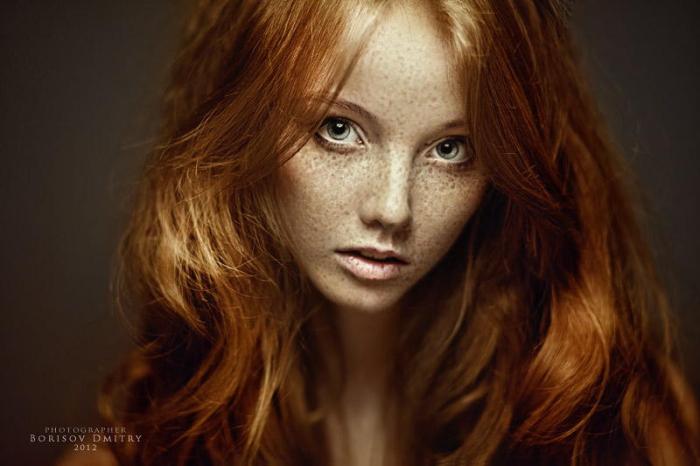 Рыжая красавица. Автор фото: Дмитрий Борисов.