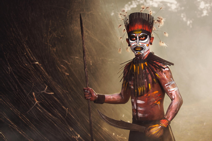 Племя Гонолулу. Автор фото: Абэ Лесс.