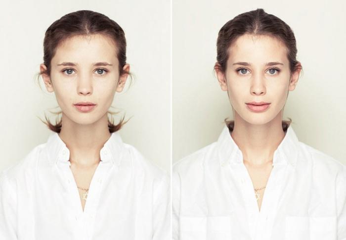 Симметричные лица от Julian Wolkenstein и Alex John Beck.