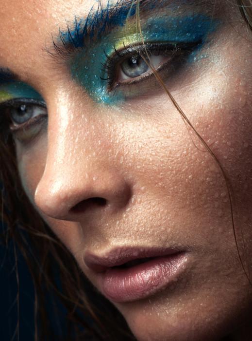 Фотограф: Suzan van Gemeren. Макияж/прическа: Annemarie van Geste. Модель: Bo van Boxtel.