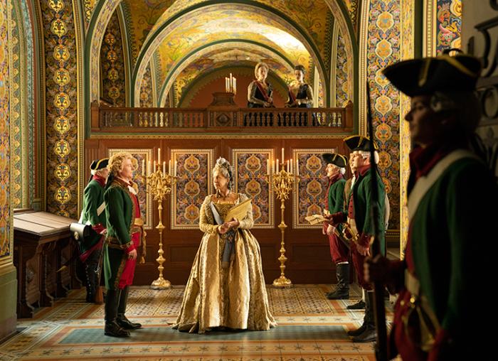 Кадр из фильма: Екатерина Великая. \ Фото: google.com.