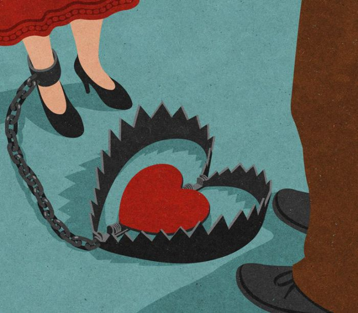 Заложница невзаимной любви.