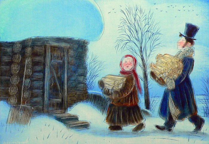 За дровами. Автор: Игорь Шаймарданов.